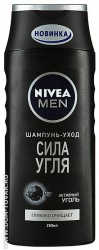 Шампунь Nivea for men «Сила угля», 250 мл.