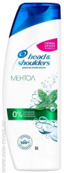 Шампунь Head and Shoulders против перхоти «Ментол», 400 мл.