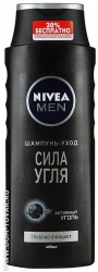 Шампунь Nivea for men «Сила угля», 400 мл.