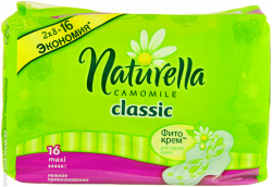 Прокладки Naturella «Classic camomile normal maxi»,16 шт.