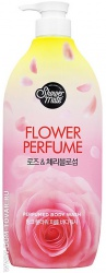 Гель для душа Kerasys «Shower Mate Pink Flower Perfumed Body Wash. Роза», 900 мл.