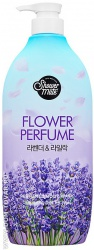 Гель для душа Kerasys «Shower Mate Purple Flower Perfumed Body Wash. Лаванда», 900 мл.