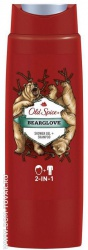 Гель для душа и шампунь Old Spice «Bearglove», 250 мл.