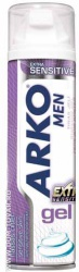 Гель для бритья Arko men extra sensitive, 200 мл.